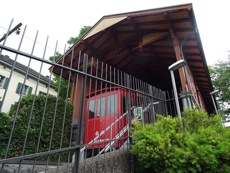 Polybahn Zurych Szwajcaria ciekawostki atrakcje
