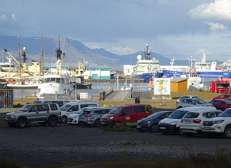 port Reykjavik atrakcje ciekawostki Islandia