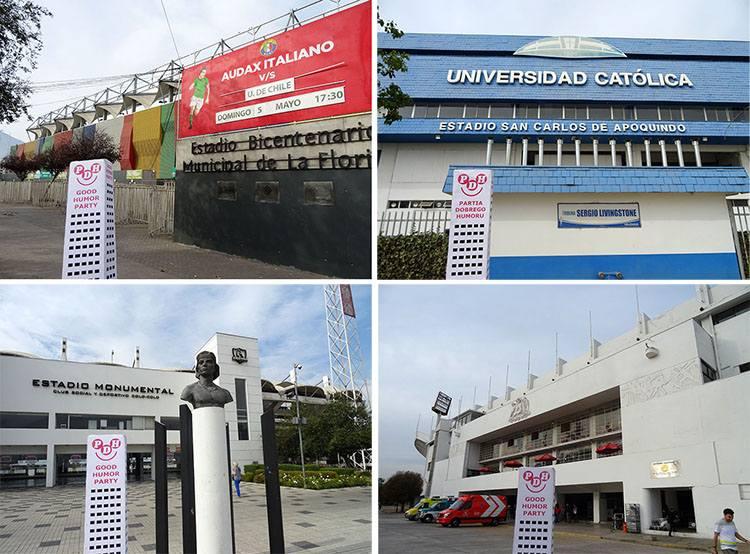 Santiago Chile stadiony kluby piłka nożna ciekawostki