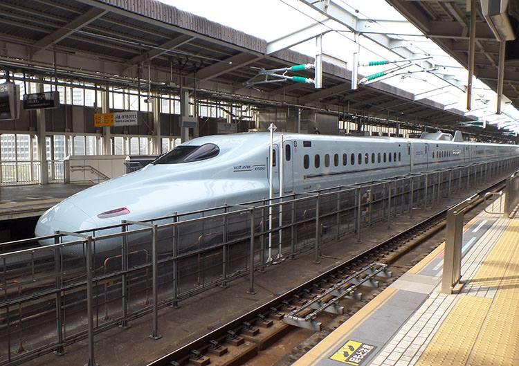 Shinkansen szybka kolej Japonia ciekawostki