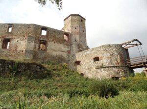 miasto Siewierz zamek ruiny ciekawostki miasto atrakcje zabytki