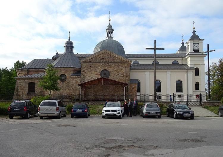 Suchedniów ciekawostki atrakcje historia kościół