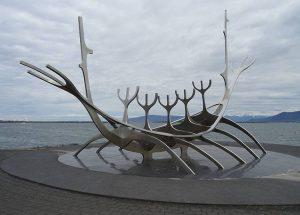 Sun Voyager Reykjavik atrakcje ciekawostki Islandia dowcipy humor