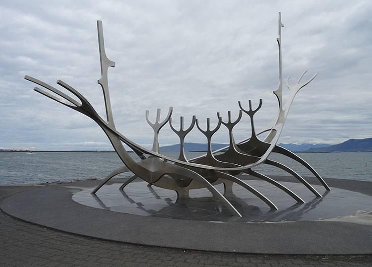 Sun Voyager Reykjavik atrakcje ciekawostki Islandia