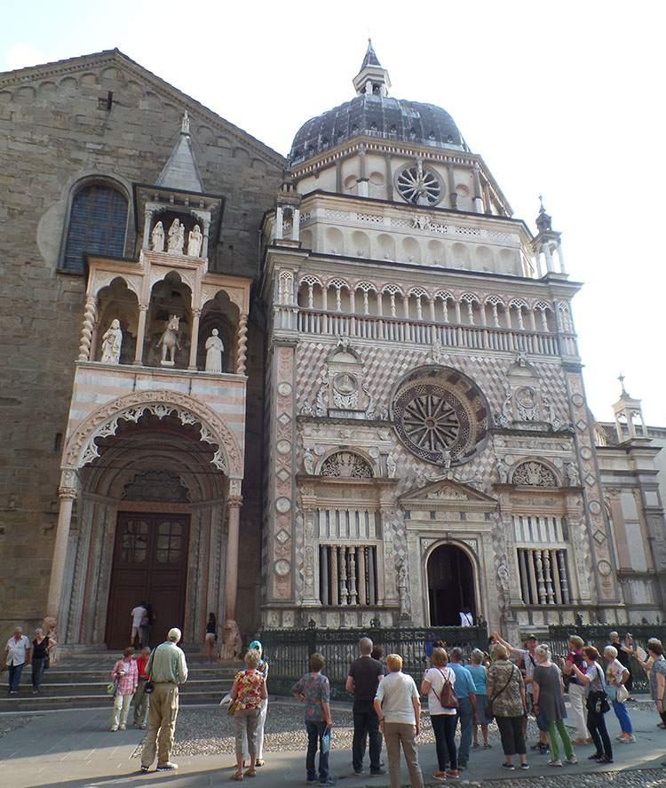 bazylika Cappella Colleoni Bergamo Lombardia Włochy ciekawostki atrakcje zabytki