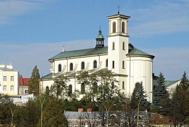 Gorlice ciekawostki bazylika kościół