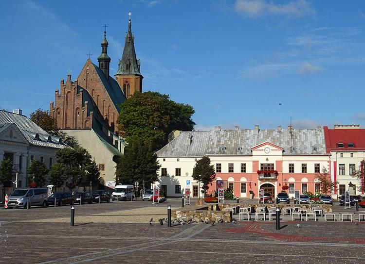 bazylika kolegiacka Olkusz ciekawostki atrakcje historia