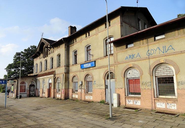 dworzec kolejowy Reda ciekawostki atrakcje