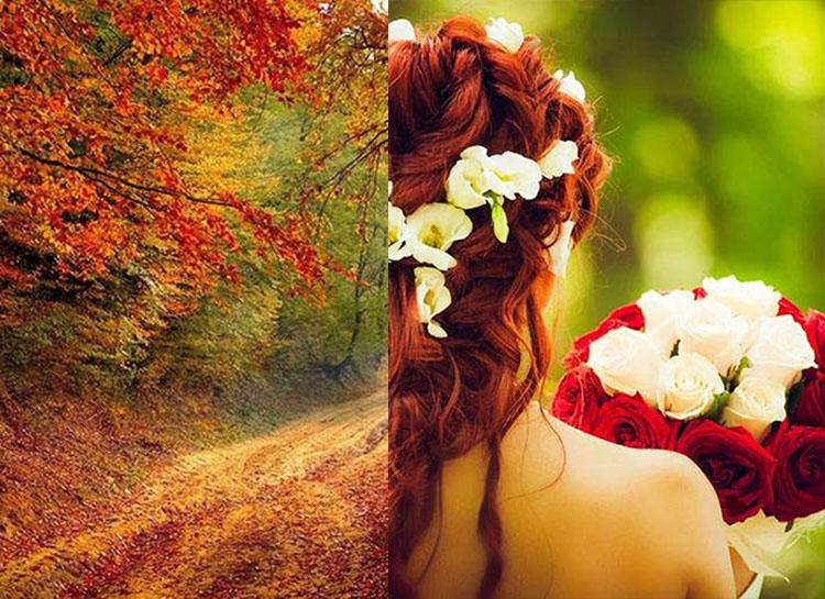jesień wesele ślub weselne pomysły atrakcje jesienne