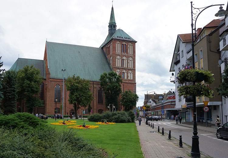 katedra Kołobrzeg ciekawostki atrakcje zabytki