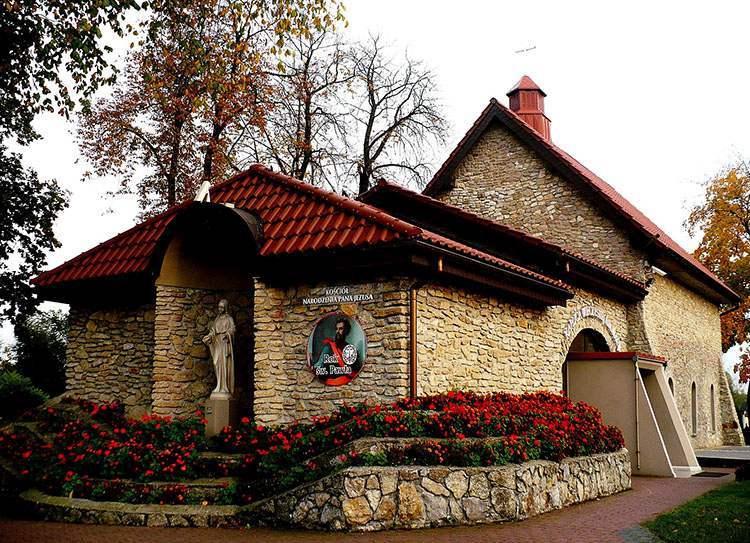 kościół Myszków ciekawostki