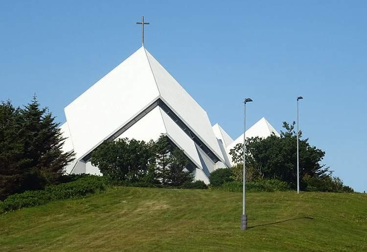 kościół Seltjarnarnes Islandia Reykjavik