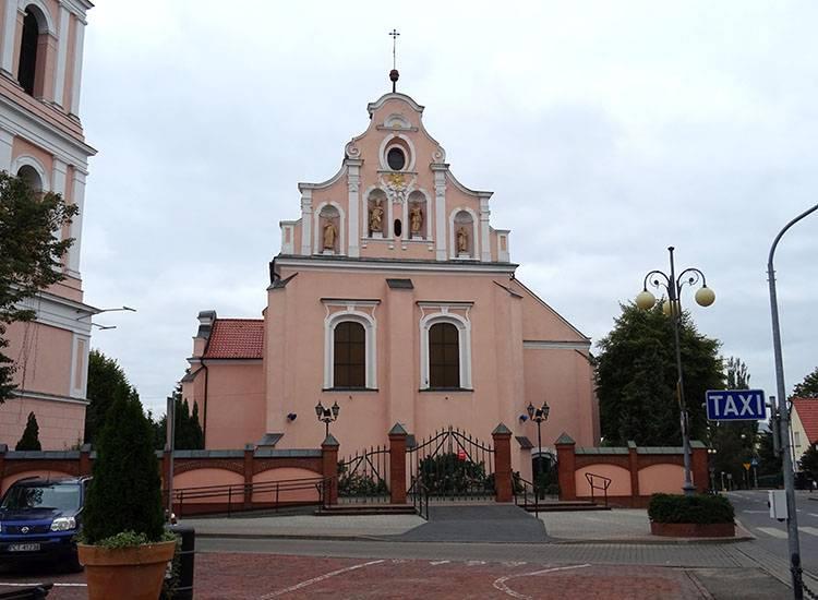 kościół Chodzież ciekawostki atrakcje