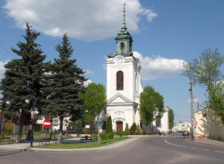 kościół kolegiata Wolbórz ciekawostki atrakcje zabytki