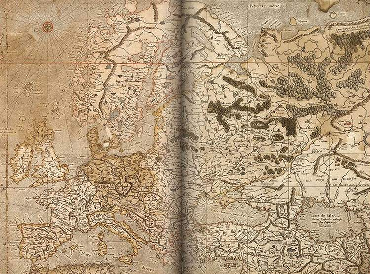 Europa Merkator mapa mapy ciekawostki historia kartografia