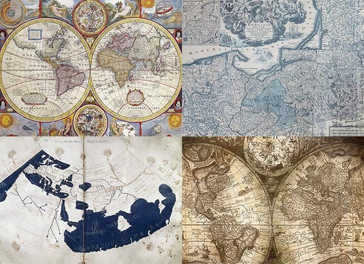 mapa mapy ciekawostki historia kartografia