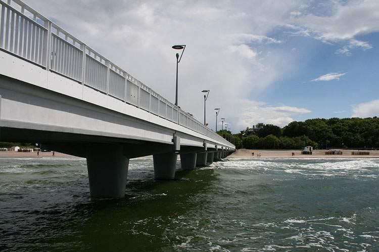 plaża molo Kołobrzeg ciekawostki atrakcje zabytki