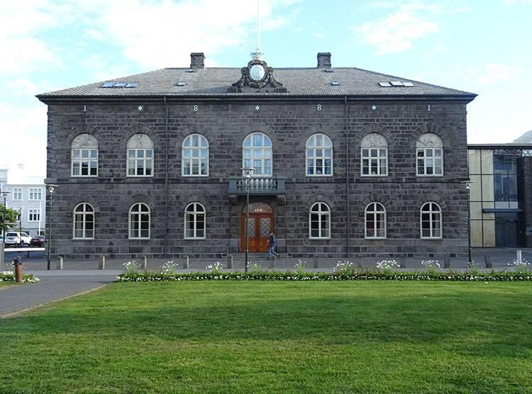 parlament Islandii Reykjavik atrakcje ciekawostki Islandia