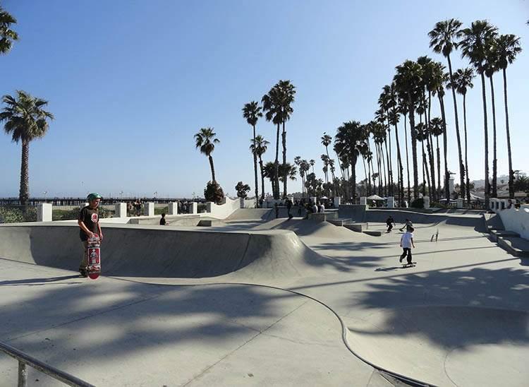 skatepark Santa Barbara Kalifornia ciekawostki atrakcje
