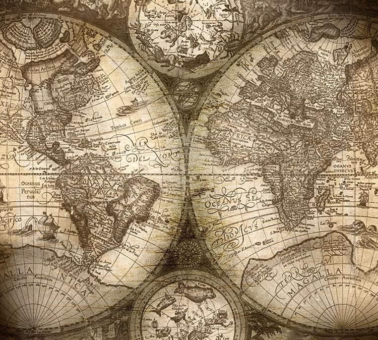 stara świat mapa mapy ciekawostki historia kartografia