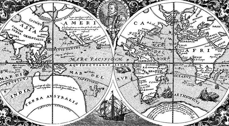 świat stara mapa mapy ciekawostki historia kartografia