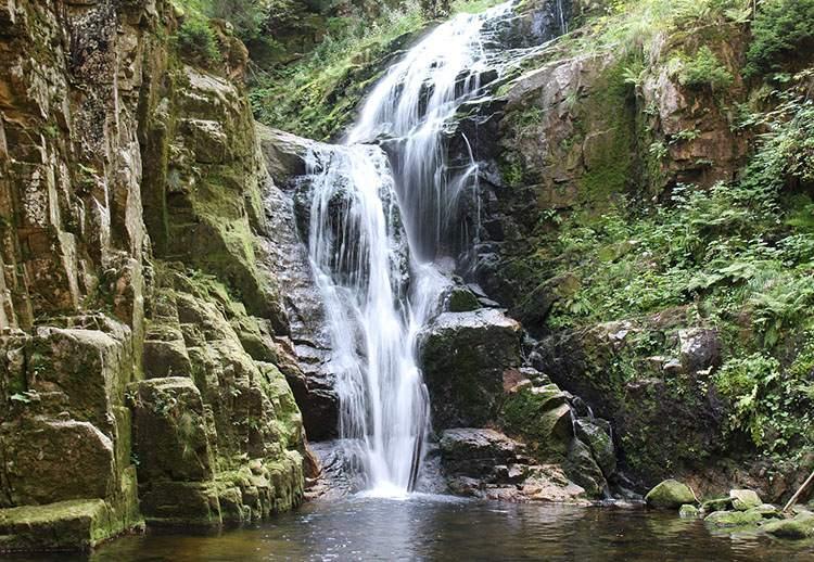 wodospad Kamieńczyk Szklarska Poręba ciekawostki atrakcje Karkonosze