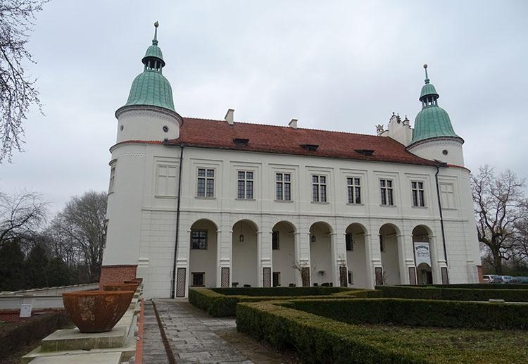 zamek Baranów Sandomierski ciekawostki