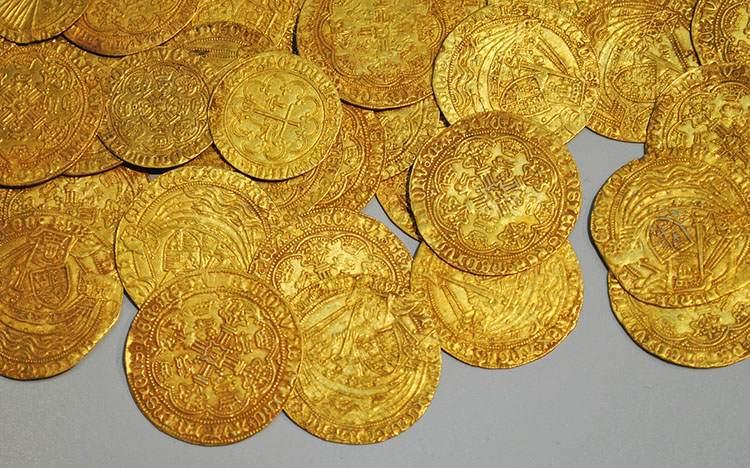 złote monety królewska złoto ciekawostki o złocie