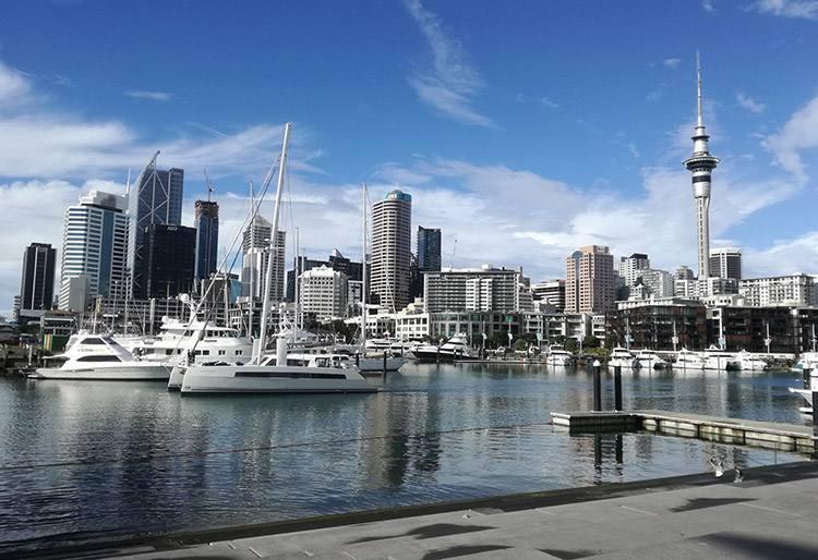 Sky Tower Auckland ciekawostki Nowa Zelandia atrakcje