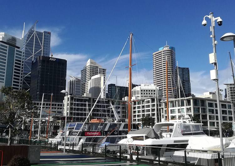 port Auckland ciekawostki Nowa Zelandia atrakcje