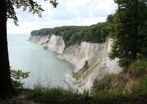 Białe Klify Rugia wyspa ciekawostki atrakcje Niemcy