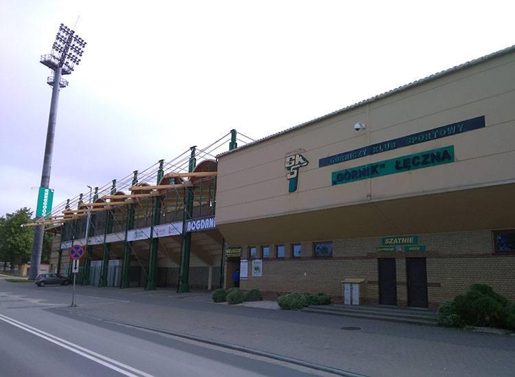 stadion Górnik Łęczna ciekawostki atrakcje zabytki