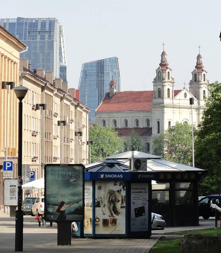 Prospekt Gedymina Giedymina Wilno ciekawostki atrakcje zabytki Litwa