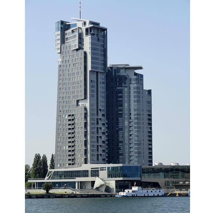 Sea Towers Gdynia ciekawostki atrakcje zabytki co zobaczyć Trójmiasto