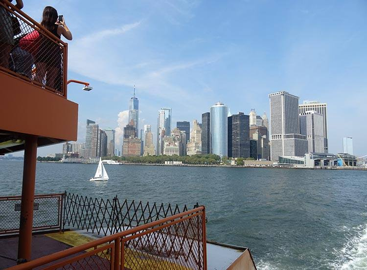 Staten Island Ferry Nowy Jork ciekawostki Manhattan