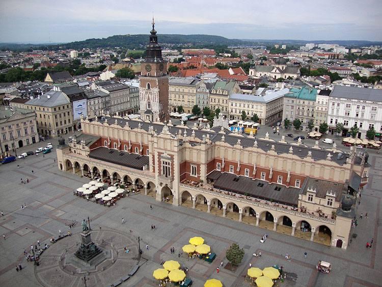 Sukiennice hejnał mariacki Kraków ciekawostki krakowski rynek