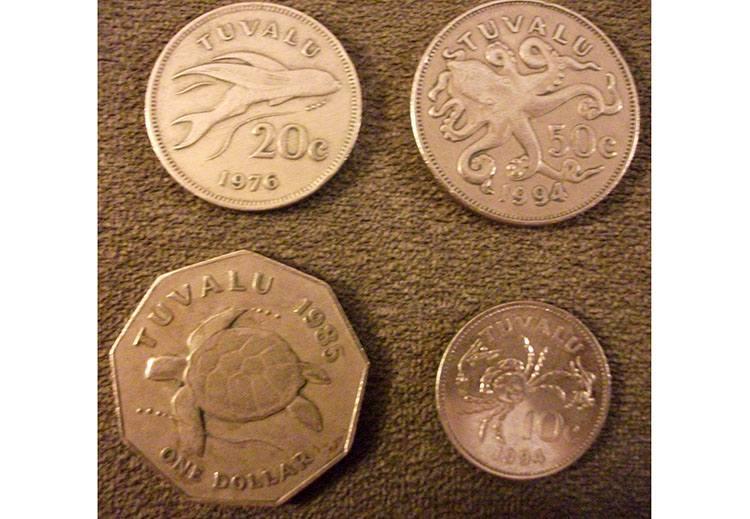 Tuvalu gospodarka waluta monety ciekawostki