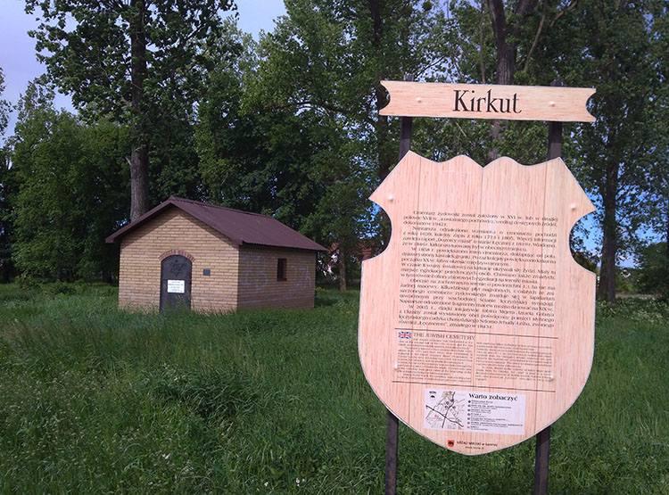kirkut cmentarz żydowski Łęczna ciekawostki atrakcje zabytki
