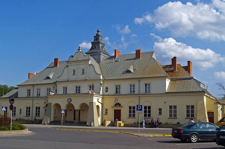 dworzec kolejowy Żyrardów ciekawostki atrakcje zabytki
