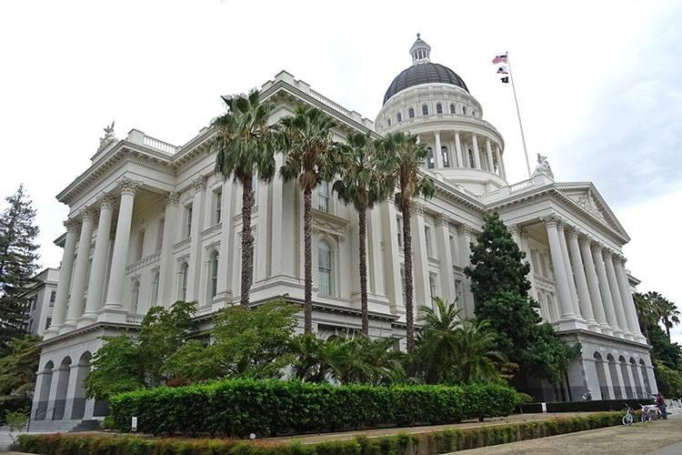 kapitol Sacramento miasto Kalifornia atrakcje ciekawostki
