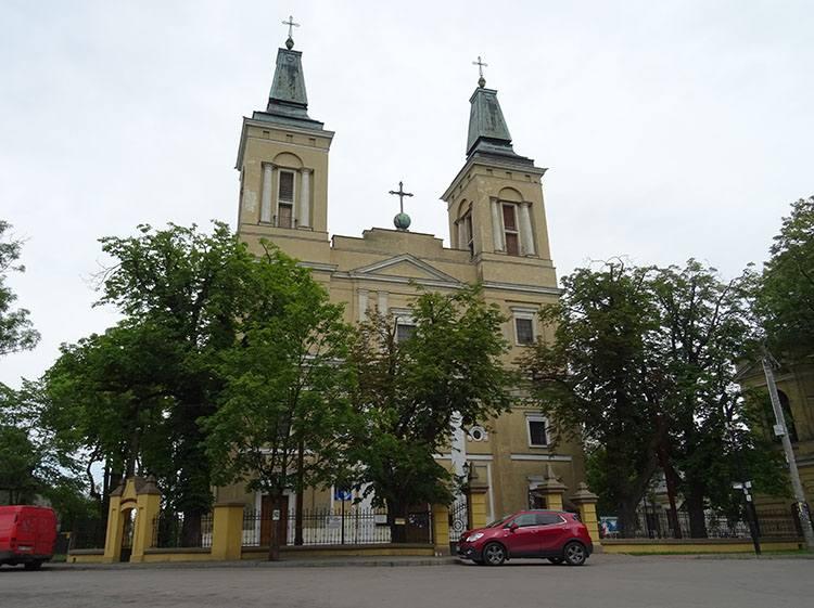 kolegiata kościół Radzymin ciekawostki atrakcje