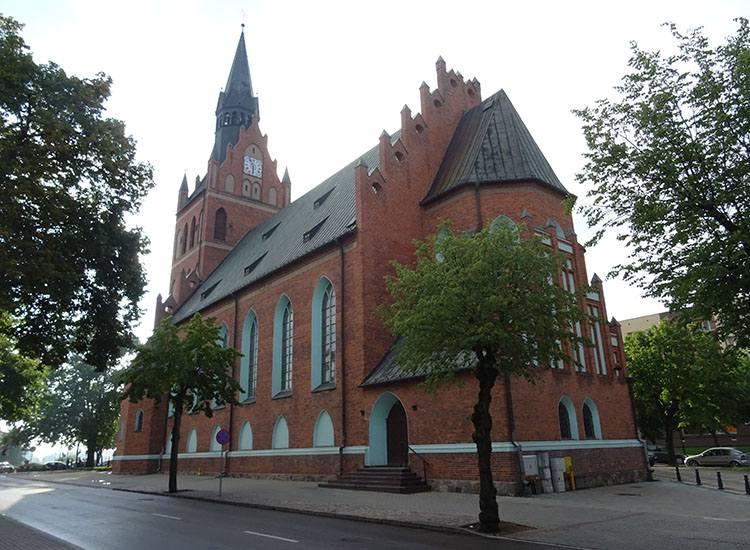 kościół Ełk zabytki ciekawostki atrakcje