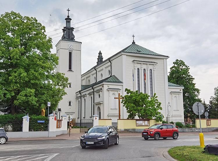 kościół Jabłonna ciekawostki atrakcje