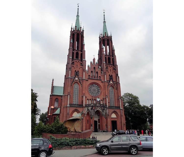 kościół Żyrardów ciekawostki atrakcje zabytki