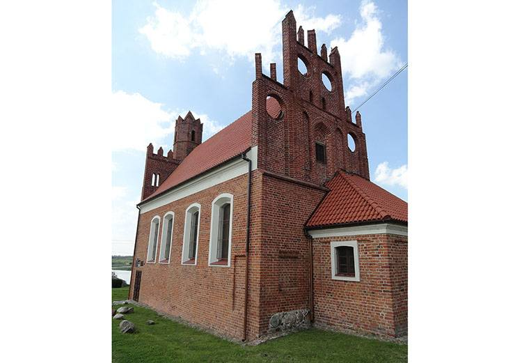 kościółek Polski Prabuty ciekawostki atrakcje zabytki
