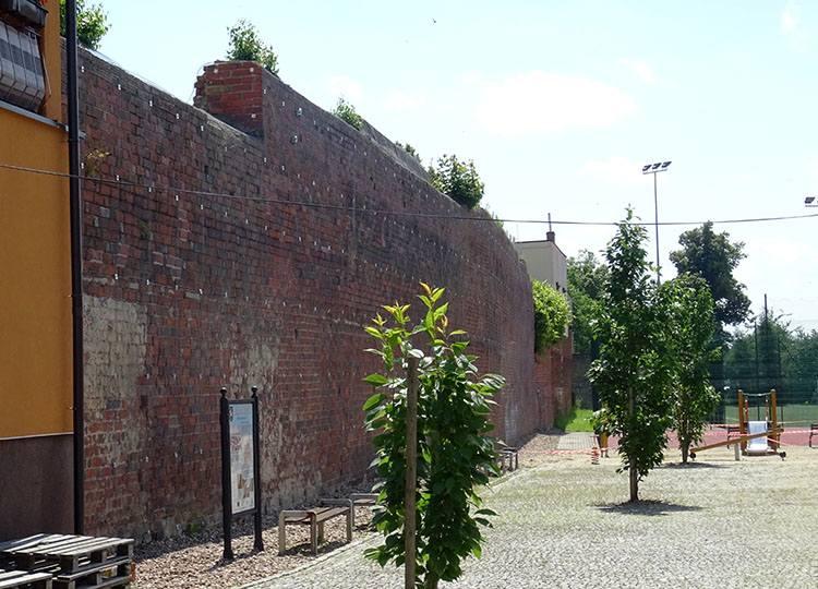 mury obronne Syców ciekawostki atrakcje zabytki