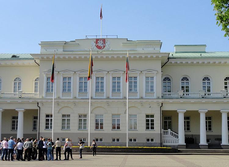 pałac prezydenta Litwy Wilno ciekawostki atrakcje zabytki Litwa