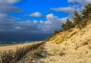 morze Bałtyckie Bałtyk plaża Łeba ciekawostki atrakcje