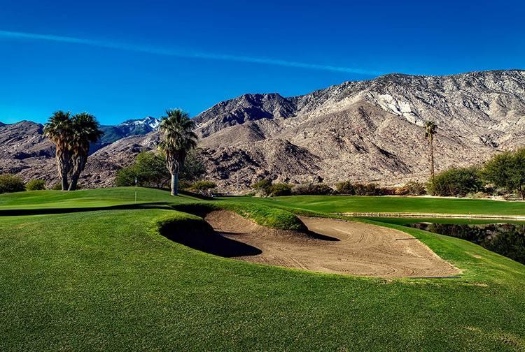 pole golfowe Palm Springs ciekawostki atrakcje Kalifornia
