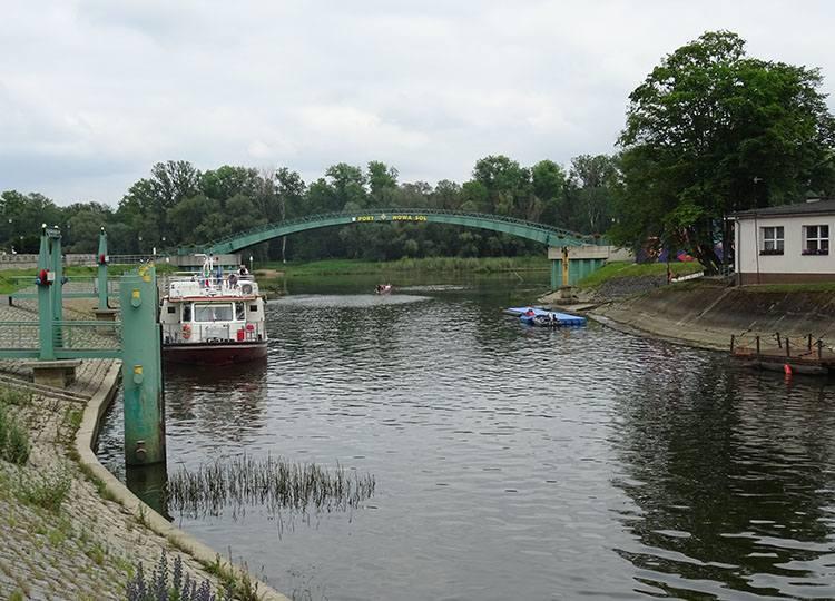 port w Nowej Soli atrakcje zabytki miasto lubuskie